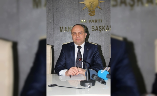 AK Parti İl Başkanı Mersinli'den Manisalılara teşekkür