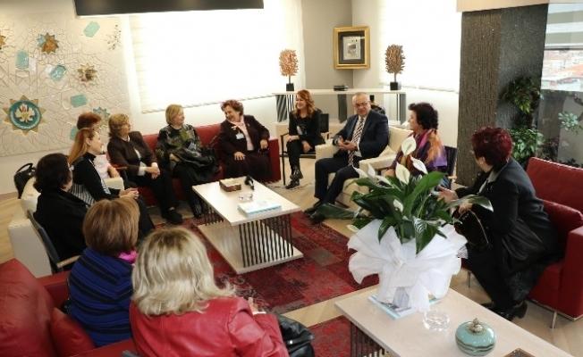 Kadınlardan Başkan Ergün'e teşekkür