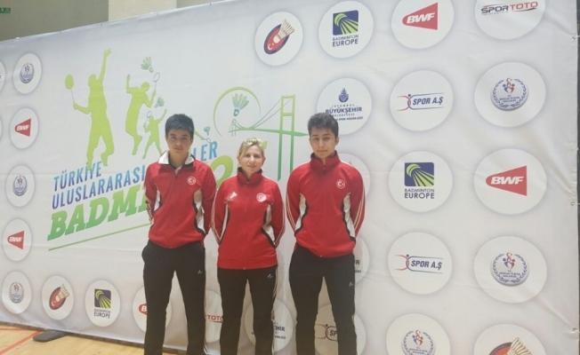 Manisalı badmintoncular milli takım seçmelerine katıldı