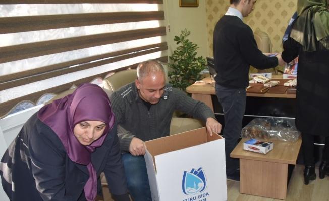 Yunusemre'den Mehmetçiğe moral desteği