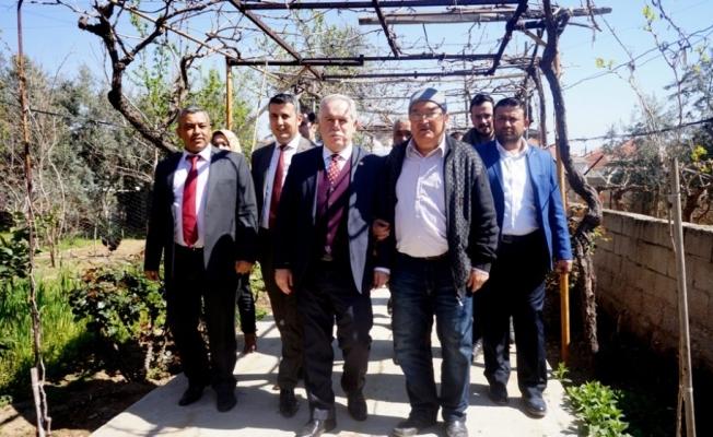 AK Parti'li Berber'den üzüm üreticilerini Rusya bilgisi