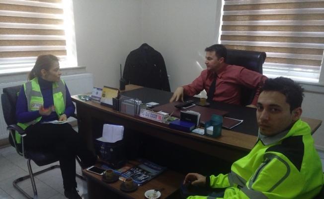Alaşehir Belediyesinden iş güvenliği eğitimi