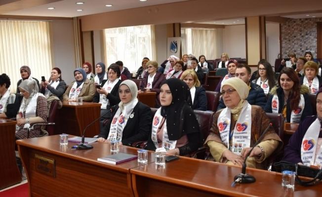 Başkan Çerçi, Bosna-Hersekli kadınları ağırladı