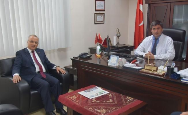 Başkan Kayda sağlık çalışanlarıyla buluştu