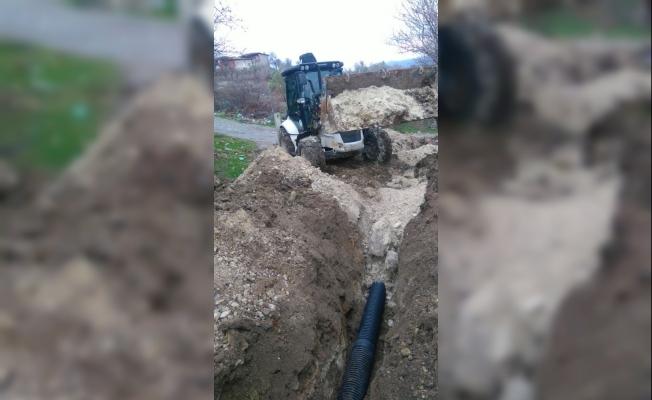 Bir mahalle daha kanalizasyonla tanıştı