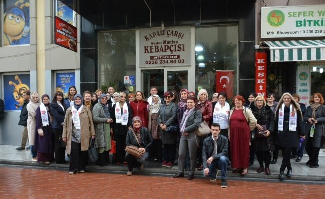 Bosna Hersekli bayanlar hanımlar lokallerine hayran kaldı