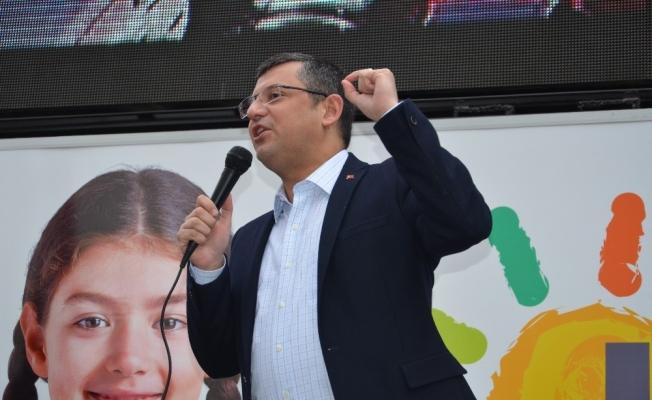 CHP'li Özel Soma'da konuştu