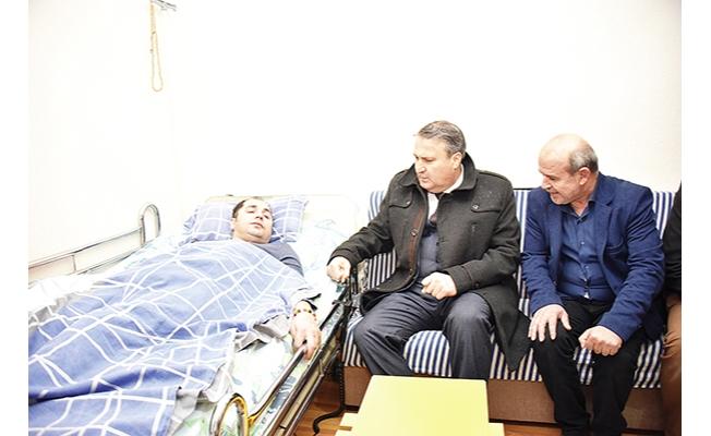 Engelli hastadan Çerçi'ye teşekkür