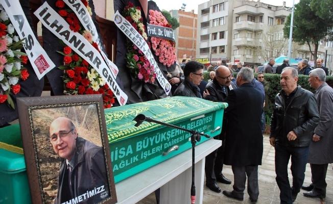 Gupse Özay'ın amcası Salihli'de son yolculuğuna uğurlandı