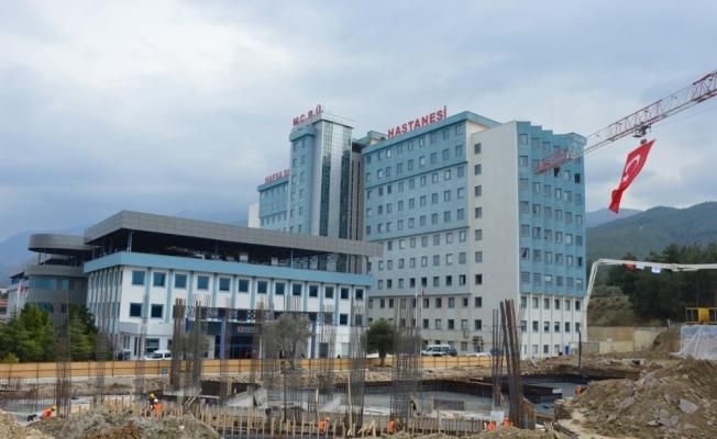 MCBÜ Hafsa Sultan Hastanesi büyüyor