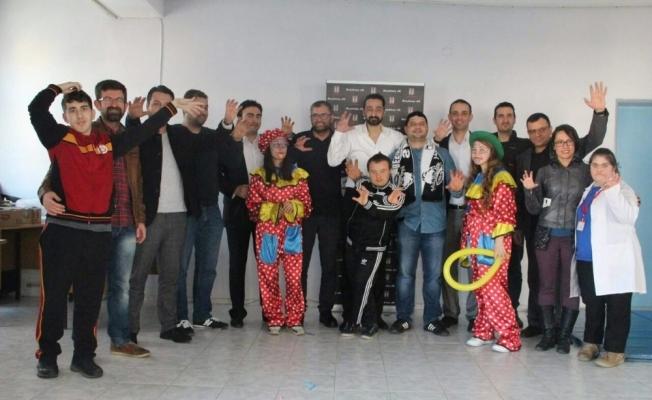 Salihli Beşiktaşlılar Derneği, özel çocukları unutmadı