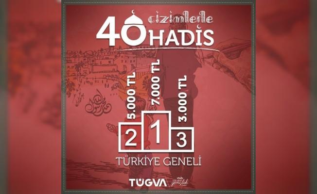 TÜGVA'dan 'Çizimlerle 40 Hadis' yarışması