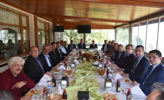 Ulaşım istişare toplantısı Salihli'de yapıldı