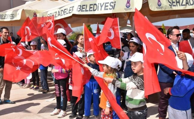 Yeşilköy Mahallesi Çok Amaçlı salonun temeli atıldı