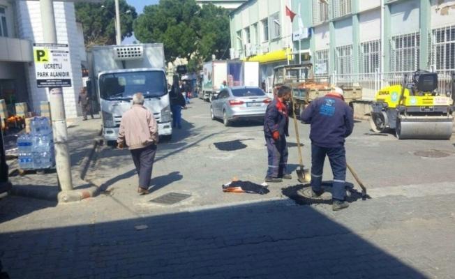 Alaşehir'de yollara bahar havası geldi