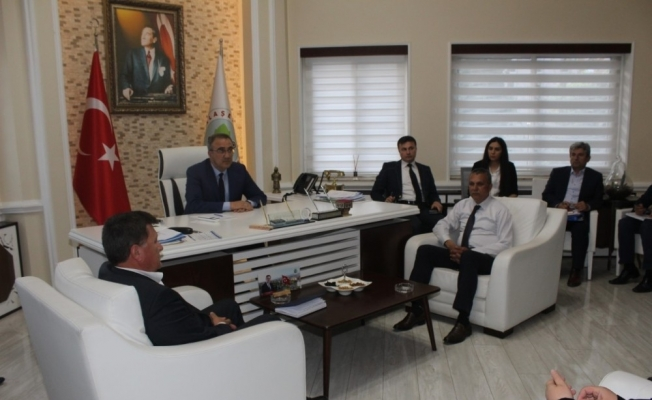 Alaşehir'deki yatırımlar değerlendirildi