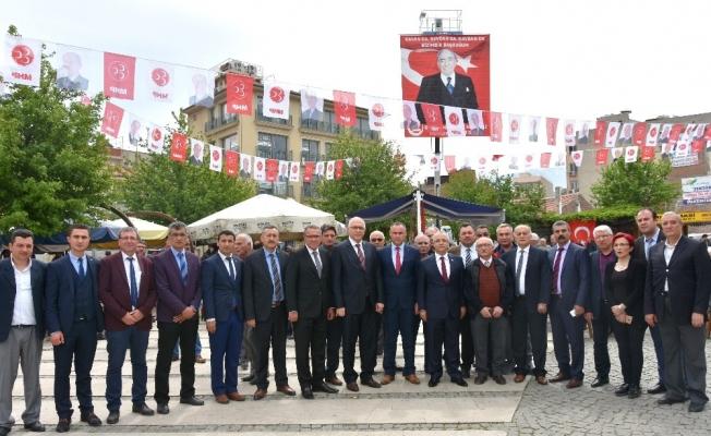 Alparslan Türkeş, ölümünün 20'nci yılında Salihli'de anıldı