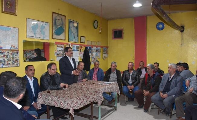 Başkan Çelik Sancaklıbozköy'de yeni sistemi anlattı