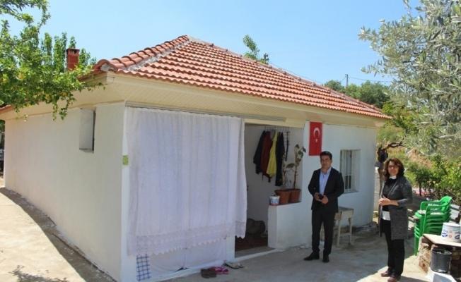 Sarıgöl'de dar gelirli ailelerin evlerine onarım desteği