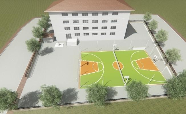 Yunusemre Belediyesi ilçedeki 10 okula spor alanı yapacak
