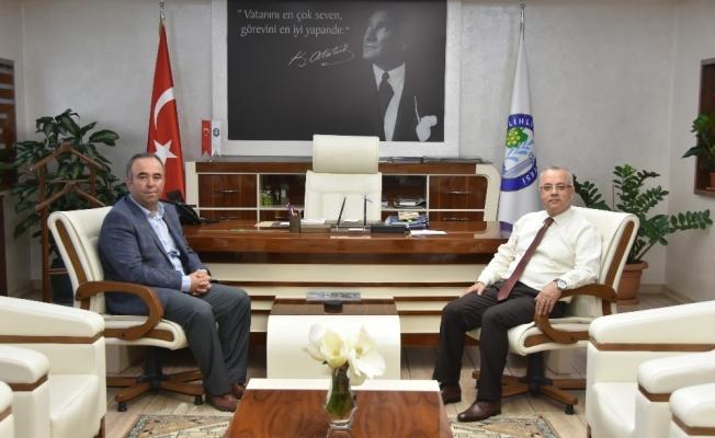 Aktürk'ten, Başkan Kayda'ya fidan desteği teşekkürü