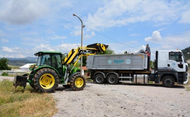 Günlük 73 ton arıtma çamuru taşıyacaklar