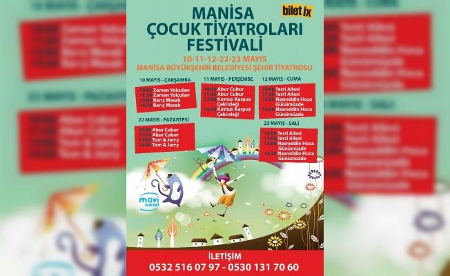 Manisa Çocuk Tiyatroları Festivali başlıyor