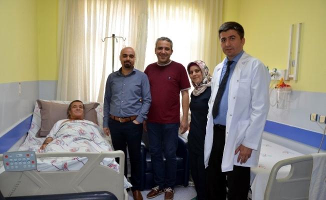 Salihli Devlet Hastanesinde başarılı operasyon