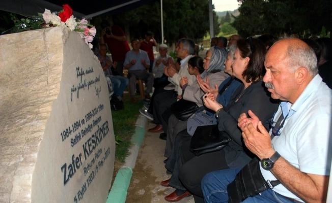 Salihli'de eski başkan Keskiner, 5. yılında unutulmadı
