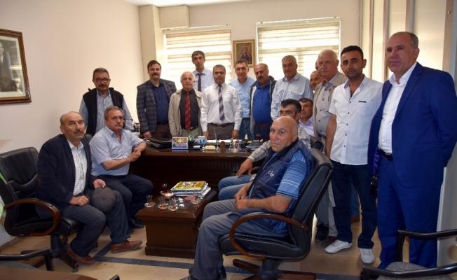 Salihli'de muhtarlar istişarede bulundu