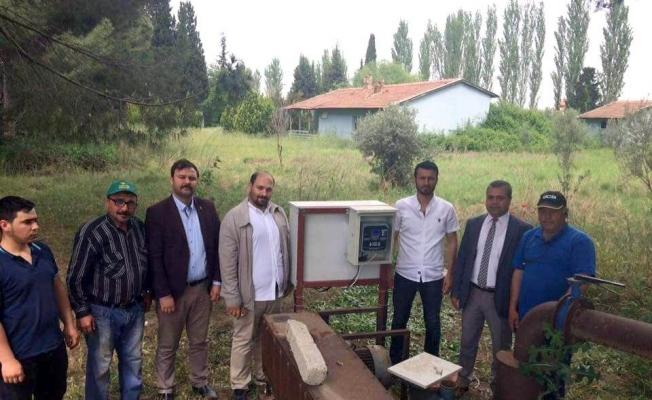 Salihli'deki tarımsal sulamada akıllı kart dönemi