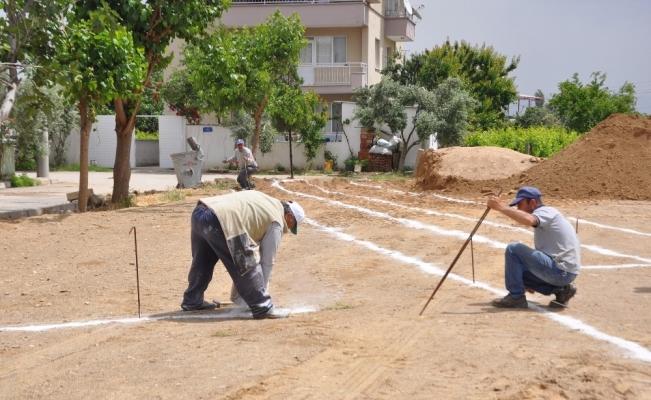 Salihli'ye yeni park yapılıyor