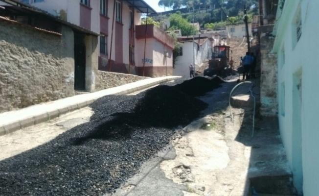 Soğuksu Mahallesine sıcak asfalt