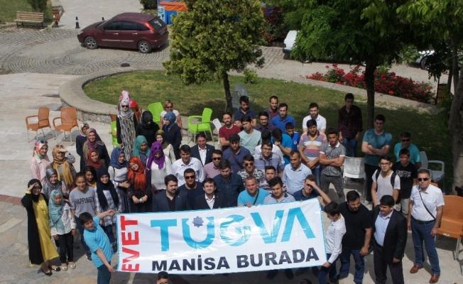 TÜGVA Manisa Temsilciliği projeleri değerlendirdi