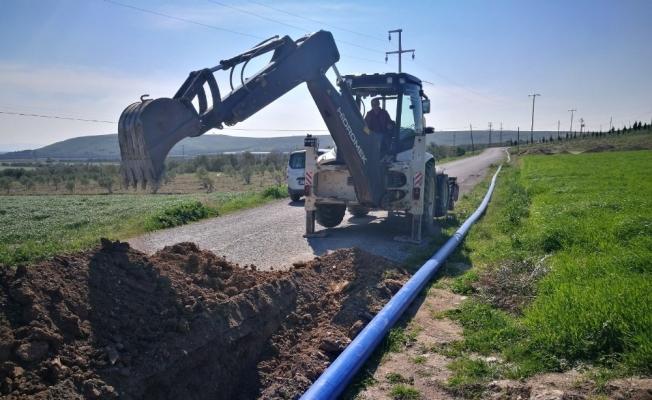 Akhisar'ın içme suyu terfi hatlarına yenileme