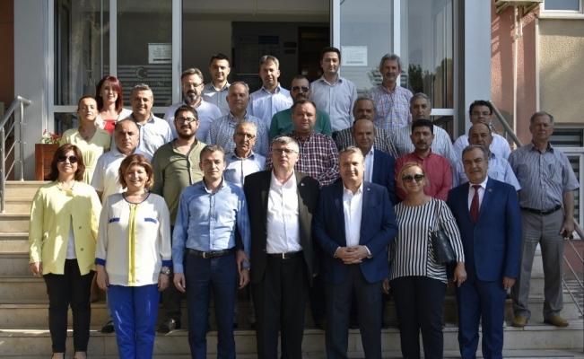 Başkan Çerçi meclis üyeleri ve personeliyle bayramlaştı