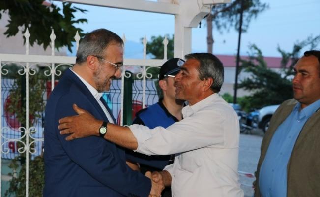 Başkan Karaçoban vatandaşlarla iftar sofasında buluştu