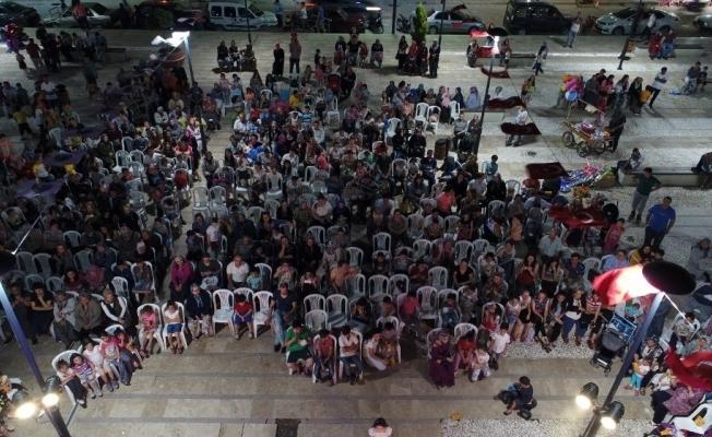 Cumartesi Pazaryeri'nde Ramazan coşkusu yaşandı