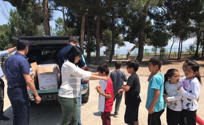Depremi yaşayan çocuklar büyükşehirle sevindi