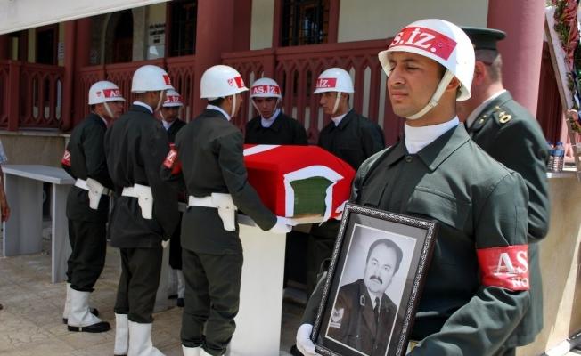 Emekli Başçavuş askeri törenle uğurlandı