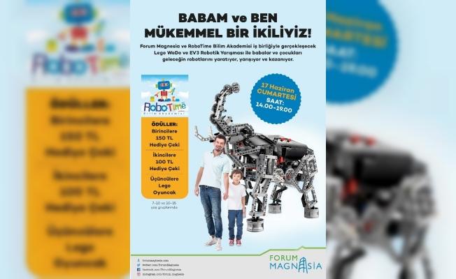 Forum Magnesia'dan Babalar Günü'ne özel yarışma