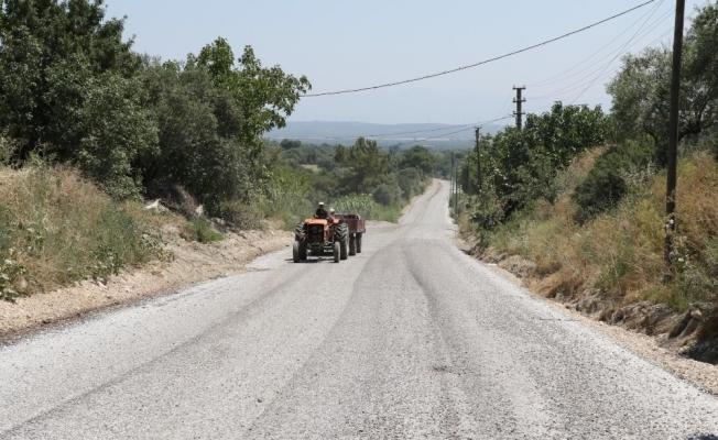 Gökçeköy'de asfalt ve kilit parke çalışması başladı