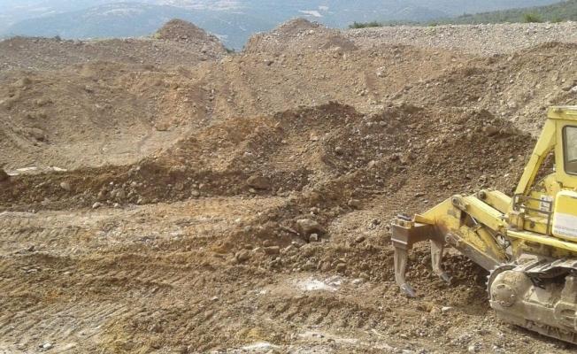 Hayvan sulama göleti inşaatı üreticileri sevindirdi