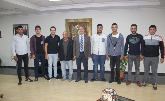 Kırkpınar öncesi Başkan Şirin'den güreşçilere destek