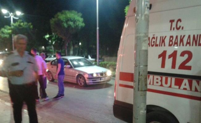 -Manisa'da Bıçaklı kavga 2 yaralı