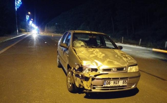 Manisa'da otomobilin çarptığı yaşlı kadın öldü