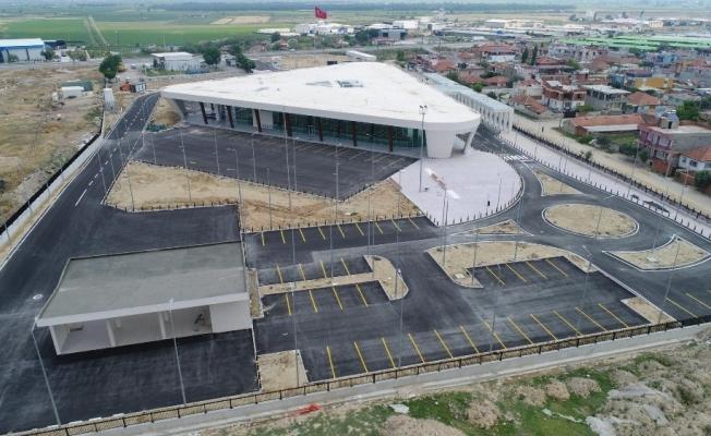 Modern terminal açılış için gün sayıyor