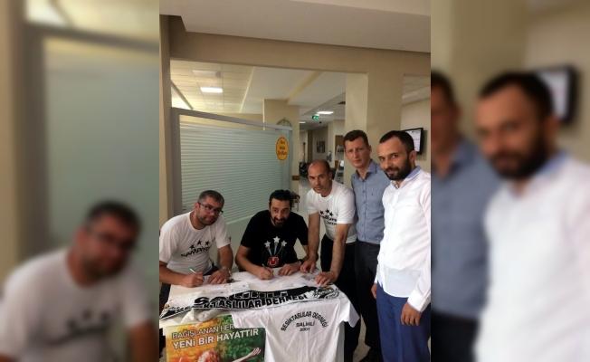 Organ bağışına Salihlili Beşiktaşlılar'dan destek
