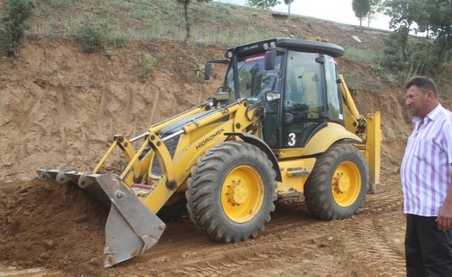 Sarıgöl'e yeni gasilhane çalışmalarına başlandı
