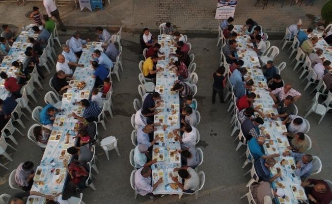 Turgutlu Belediyesinden Seviltepe'de iftar